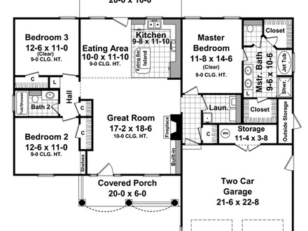 1500 Sq FT Ranch Homes Pictures 1500 Sq FT Ranch House Plans