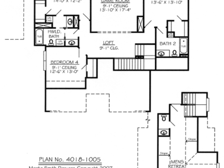 Open floor plans with loft loft style house plans loft for One bedroom loft floor plans