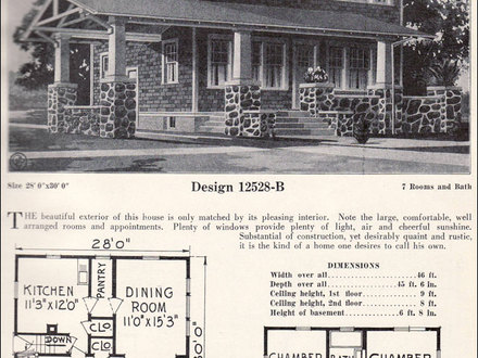 2 Story 1920s Craftsman Bungalow House Plans Craftsman 2 Story Home Kits