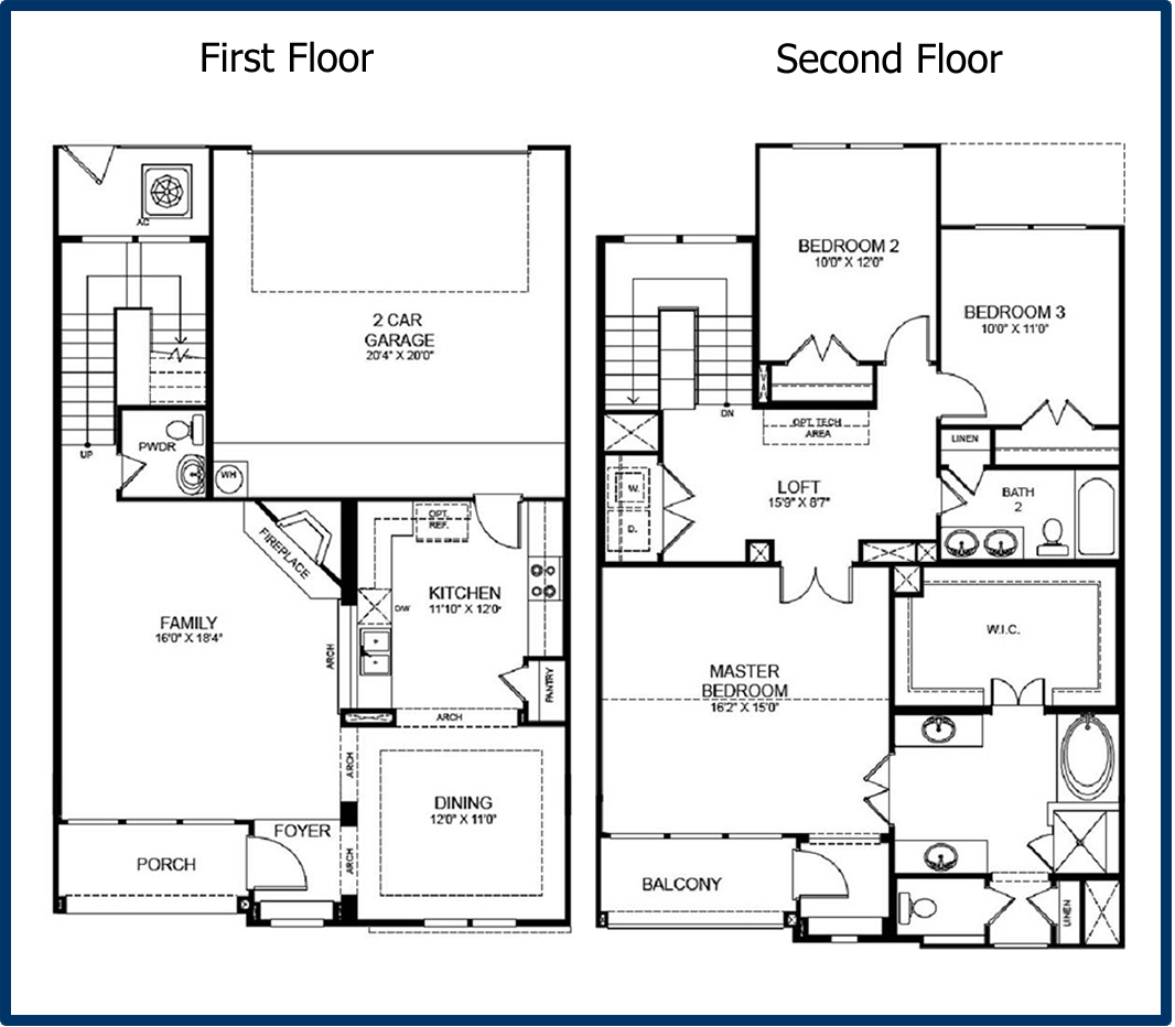 2 story 3 bedroom floor plans mansion master bedroom open for 3 bedroom open floor plan