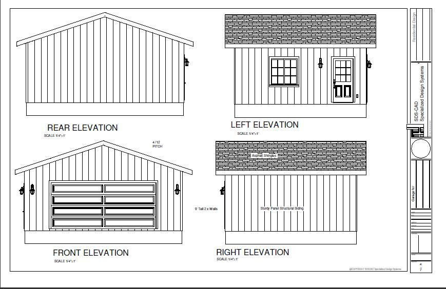 20 X 24 2 Storey Garage 20 X 24 Garage Plans Cabin House Plans With Garage Treesranch Com