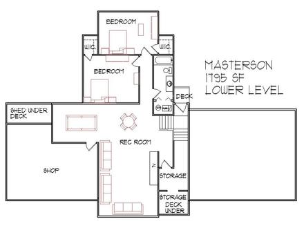 3-Bedroom Split-Level Plans Split Level Floor Plans