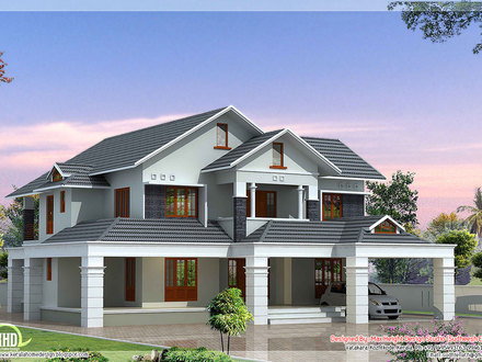 Bedroom with two master suites floor plans country style for 5 bedroom house with pool