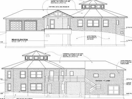 Architectural Elevation Plan Good Layout Sheet Plan and Elevation Drawings