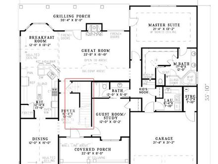 Arts and Crafts Bungalow Floor Plans Arts and Crafts Architecture