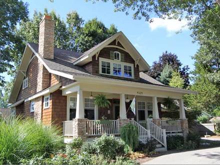 Arts and Crafts Cottage House Plans Interior