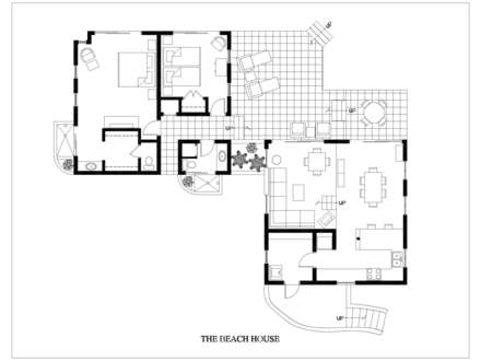 Beach Narrow Lot House Plans Beach House Floor Plan