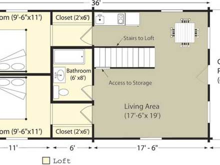 Big Log Cabins Small Log Cabin Floor Plans