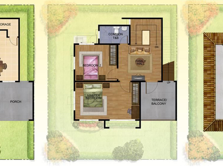 Contemporary 2 Storey House Philippines 2 Storey House Floor Plan for Models