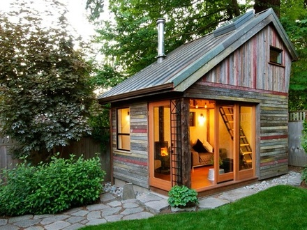 Convert Shed into Guest House Back Yard Guest House