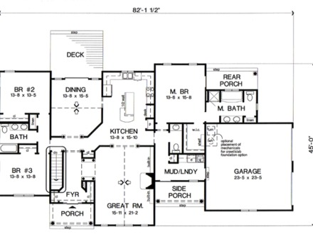 Craftsman Bungalow House Plans Traditional Bungalow House Plans