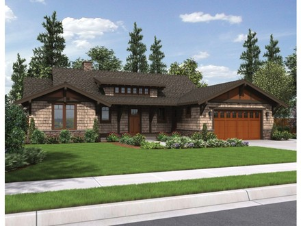 Craftsman Ranch House Plans with 3 Car Garage Turning Ranch into Craftsman Style Home