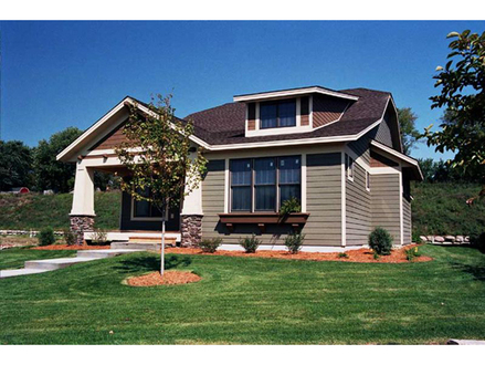 Easy Arts and Crafts Arts and Crafts Small House Plans