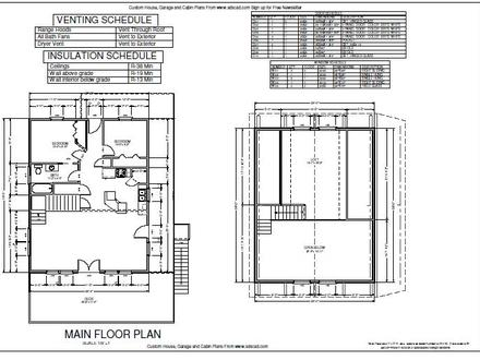 Free Cabin Plans with Blueprints Micro Cabin Plans Free