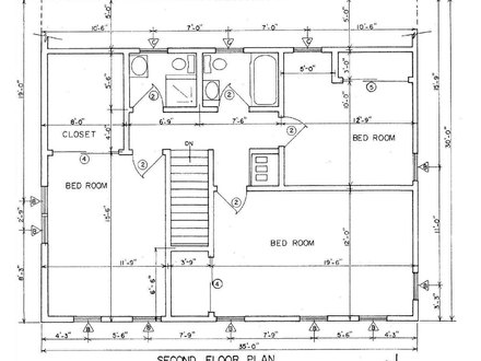 Free printable house blueprints free house plans south for Free floor plan drawing tool