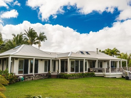 Hawaiian Houses Hawaiian Plantation Style Home Plan