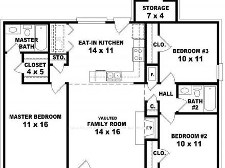 800 Square Foot Apartment Floor Plan further House Plans together with Dc9deb6ded2eba17 3 Bedroom 2 Bath House Plans 3 Bedroom 2 Bathroom House as well East Village Apartments likewise Narrow House Plans. on floor plans for ranch homes