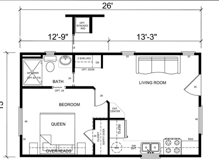 Inside Tiny Houses Tiny House Floor Plans for Families