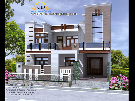 Kerala House Plans and Elevations Front Elevation Indian House Designs