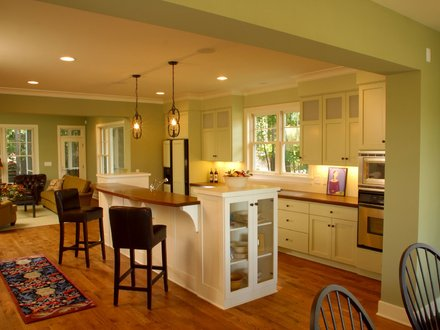 Kitchen Designs for Small Spaces Small Kitchen Designs with Open Floor Plan