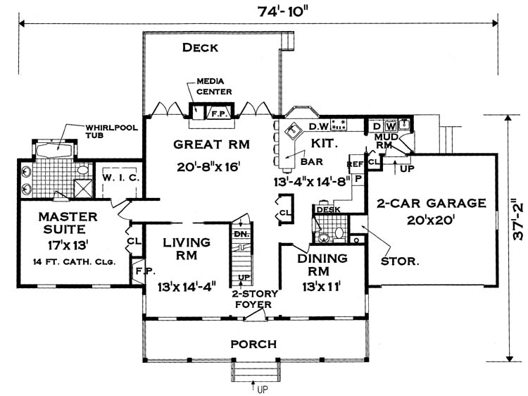 Large family house plans extended family house plans for Extended family house plans