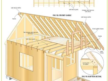Micro Cabin Plans Free Wood Cabin Plans Free