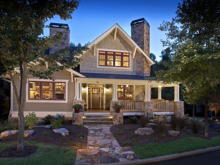 Variety of home designs available to atlanta new home for Variety home designs
