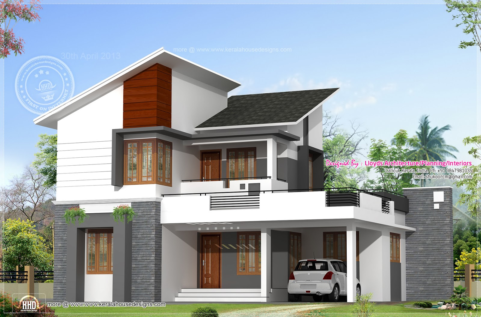 Modern tropical house design modern house designs and for Modern tropical home designs