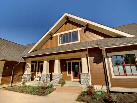 New Craftsman Bungalow Style Homes New Craftsman Style Home