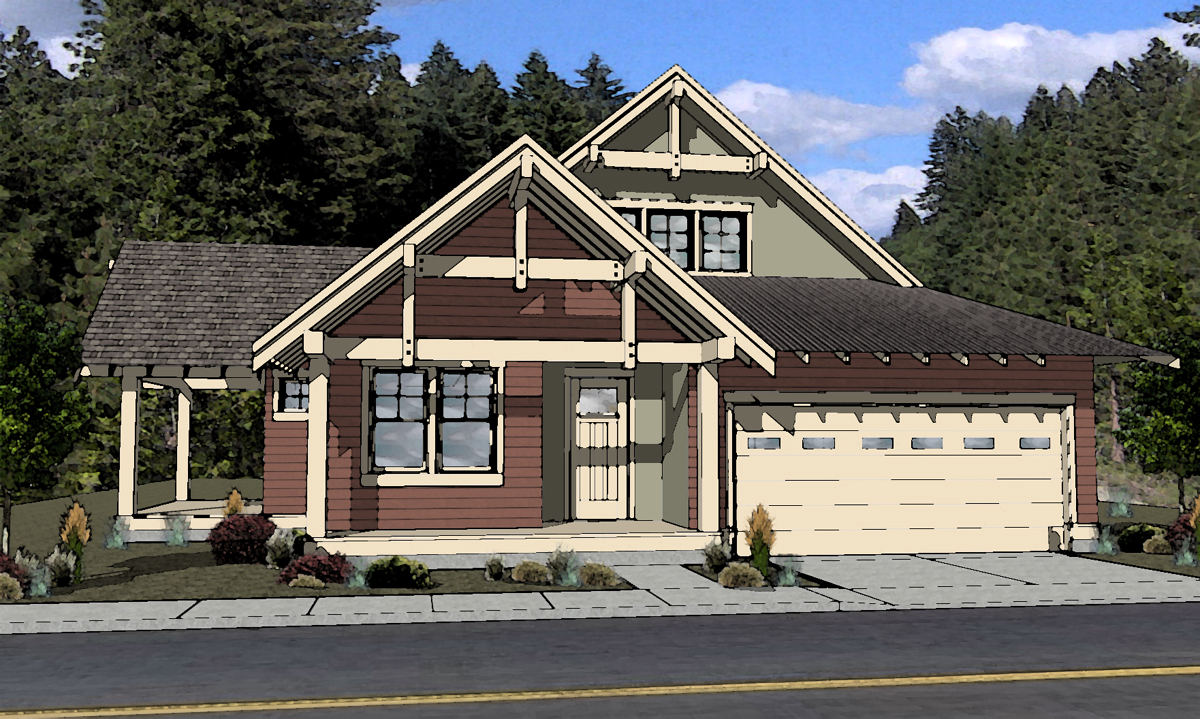 Northwest contemporary house plans northwest style house for Oregon house plans
