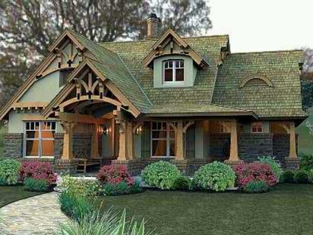 Carmel cottages assisted living cottage house in carmel for Retirement cottage house plans