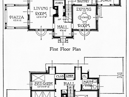 Vintage House Plans 1960s Homes Mid Century Homes: old ranch house plans