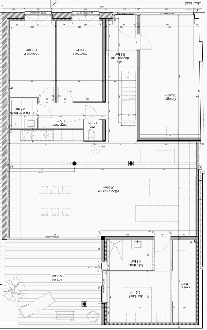 Open floor plans with loft award winning open floor plans for Loft floor plans with dimensions