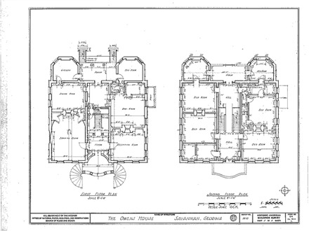 Owens Thomas House Floor Plan Owens Thomas House and Museum