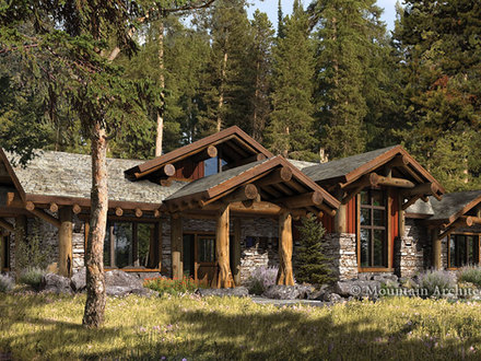 Rustic Log Cabin Home Plans Rustic Log Cabin Bathrooms