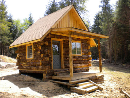 Rustic Log Cabins for Sale Old Cabin in the Woods
