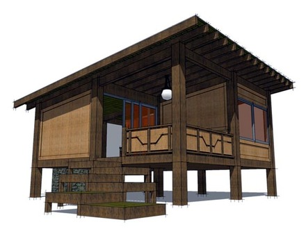 Simple Small House Floor Plans Hunting Cabin House Plans
