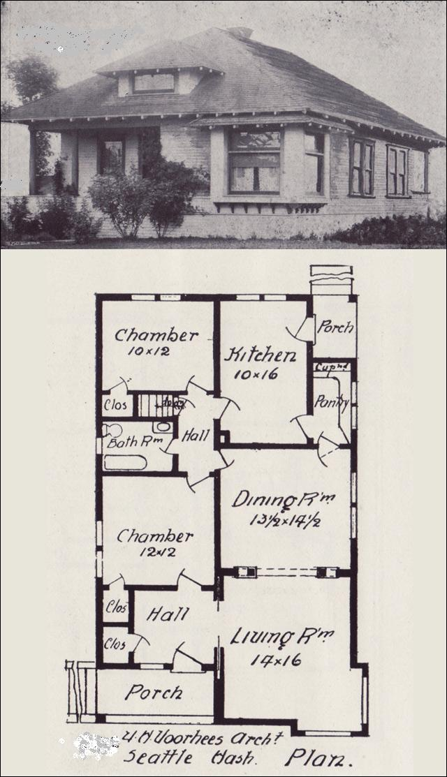 Simple small house floor plans old house floor plans old for Old bungalow house plans