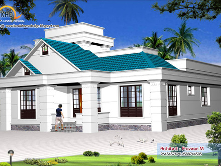Small one story house plans simple one story houses small for Big one story houses