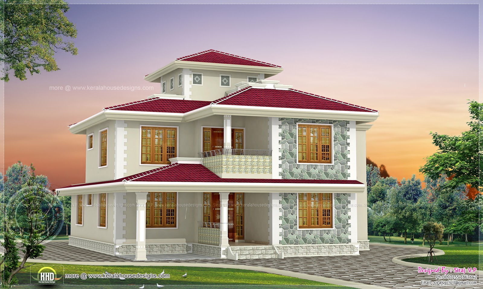 Single storey kerala home design pictures style kerala for House designs indian style
