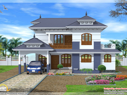 Single Storey Kerala Home Design Pictures Style Kerala Style Home Designs