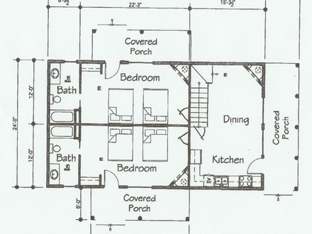 Single Story Open Floor Plans floorplans will help you to get a better view of the cabins layout