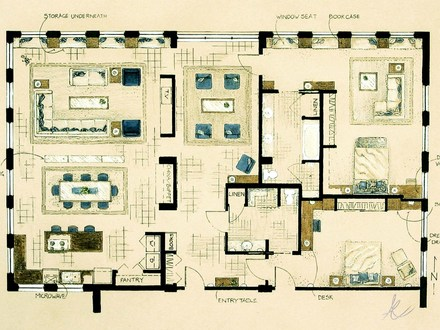 Small Beach House Floor Plans Coastal House Plans