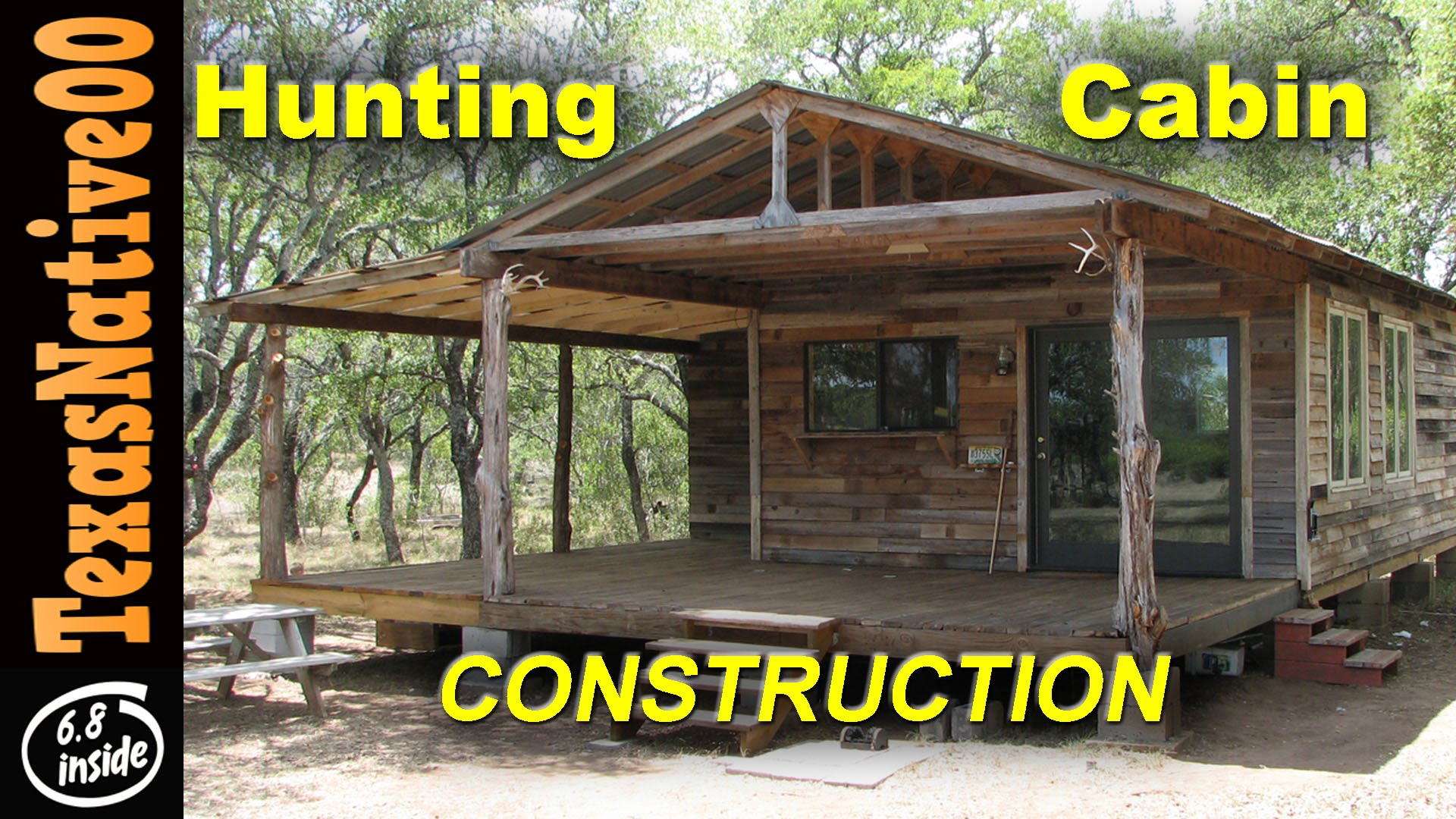 Small hunting cabin ideas small hunting cabin plans and for Cabin construction ideas