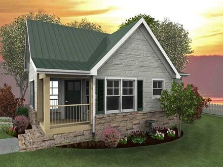 Small Mountain Cabin Plans with Loft Simple Cabin Plans