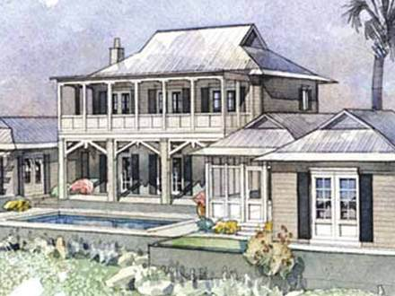 Southern Living Coastal House Plans Coastal Ranch House Design