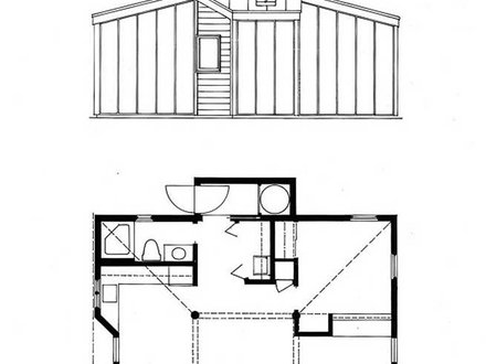 Off grid cabin floor plans small passive solar cabin plans for Remote cabin plans