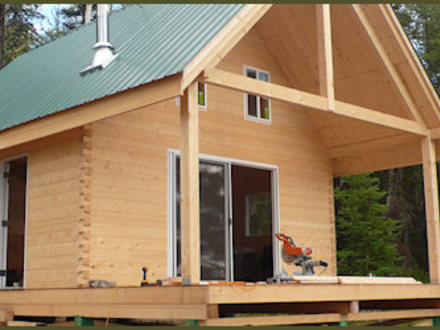 Timber Frame Cabin Kits Small Timber Frame Cabin Kits