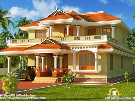 Kerala home designs houses kerala 3 bedroom house plans for Kerala model small house plans