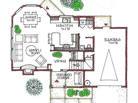 Types of Energy Efficient Homes Energy Efficient House Floor Plans